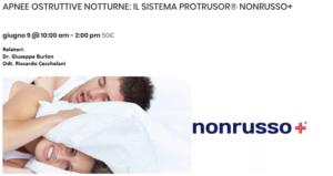 Apnee ostruttive notturne: il sistema Protrusor NONRUSSO+